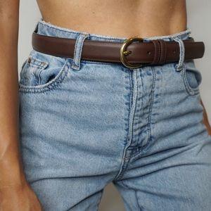 Accessories - Coach brown high waist belt